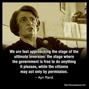 Ayn Rand quote on tyrannical Government