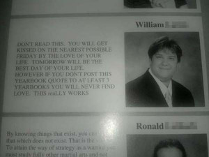 21 of the Best and Worst Yearbook Quotes Ever