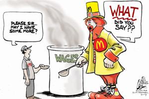 Political Cartoons on the Economy
