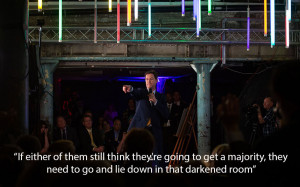 """Nick Clegg quotes """"If either of them still think they're going to ..."""