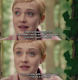 ... image include: now is good, dakota fanning, movie, quote and tumblr