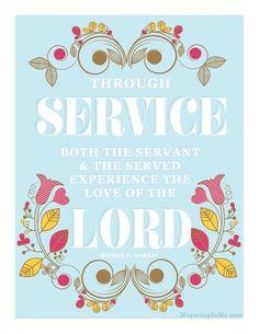 more lds quotes service inspiration faith servings god lds service lds ...