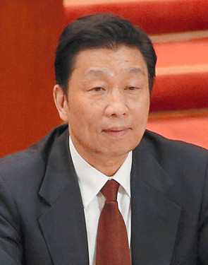 Li Yuanchao a member of the Chinese Communist Party 39 s Politburo