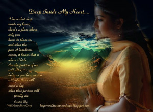 Love Deep Heart Touch Poem...