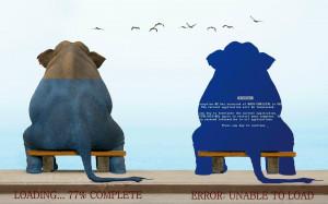 Animals quotes funny elephants wallpaper
