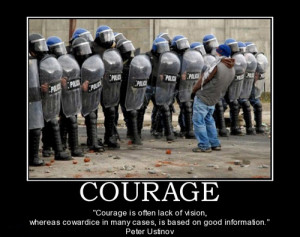 Quotes About Police Bravery Quotesgram