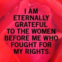 Women's Rights - Positive Quotes - Inspirational Quotes - Enjoy ...