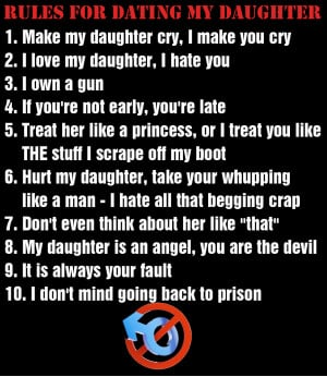 For Dating Daughter My Quotes Rules