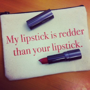 rocking my favorite red lipstick today and the rest of this patriotic ...