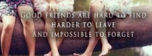 Good Friends Quote Facebook...