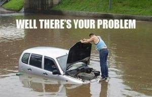 Car has broken down