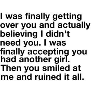 Quote by me .. story of my life
