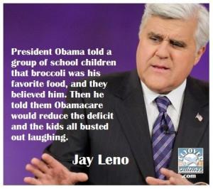 Jay Leno #Obamacare