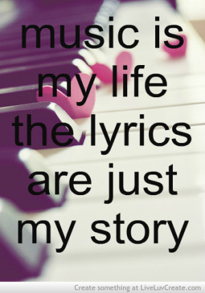 cute, girls, love, music life, pretty, quote, quotes