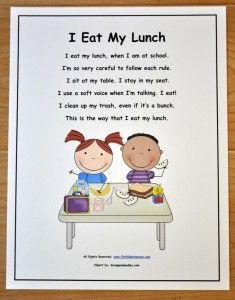 Appropriate Cafeteria Behavior: