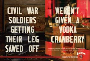 Jim Beam Ads. Love them.