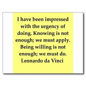 Nerd Sayings And Quotes Leonardo da vinci quote post
