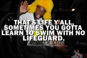 lil wayne runnin quotes - Google Search