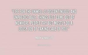Mark Vonnegut Quotes