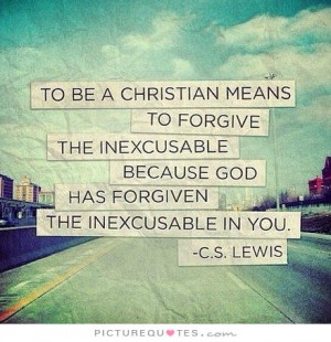 Christian Forgiveness Quotes