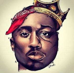 hip hop rap biggie biggie smalls 2pac Tupac tupac shakur Legends west ...