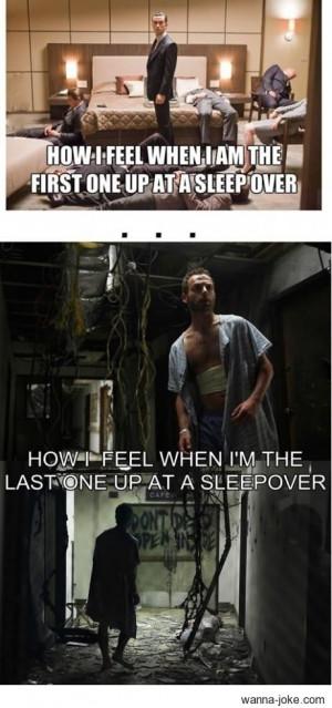 sleep over wanna joke.com