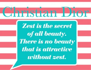 Style & Grace Quote of the Day: Christian Dior