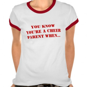 you_know_youre_a_cheer_parent_when_tshirt ...