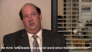 The Office Quotes Kevin Tagged as: the office,