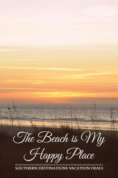 Quotes: The Beach Is My Happy Place | Book Your Next Vacation ...