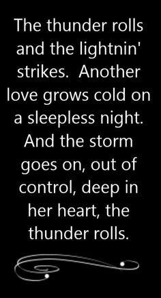 thunder rolls song lyrics song quotes songs music lyrics music quotes ...