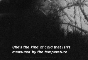 cold depressed sad suicidal suicide quotes mess alone broken lovely ...