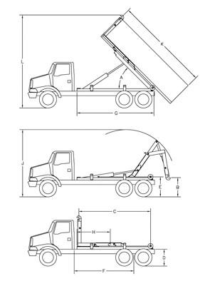 vehicle turning radius chart