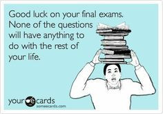 Final Exam Quotes Final exam, book poster,