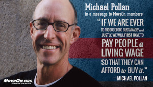 fight for a living wage …