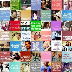 ... image include: grey's anatomy, Best, funny, greys anatomy and love