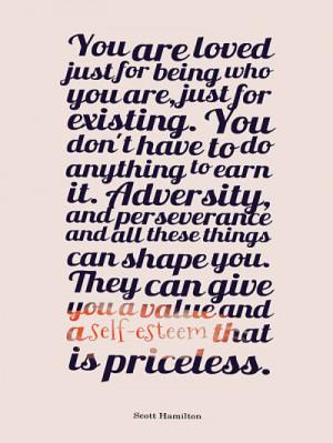 Quotes about self esteem – Scott Hamilton
