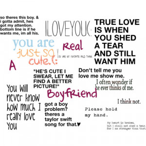 Real Boyfriend + Love quotes - Polyvore