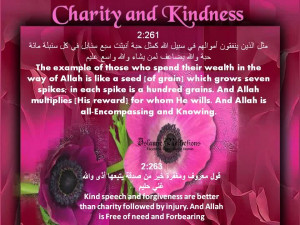 Best Charity Quote ~ The example of those who spend their wealth on ...