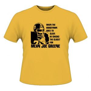 Mean' Joe Greene Boogey Man Football T Shirt