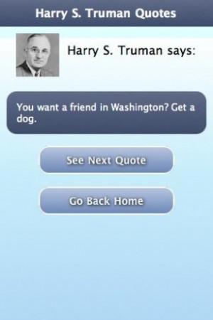 Harry S Truman Quotes Screenshots harry s. truman