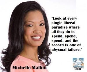 Michelle Malkin...