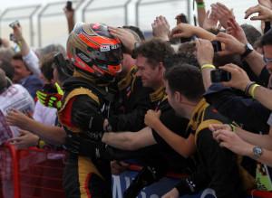 Romain Grosjean, Bahrain GP 2012