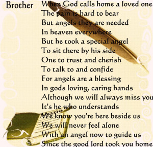 In Memory Of : Dad, Sister Marie, Brother Mario