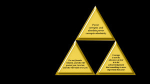 Triforce of Quotes by personofinterests