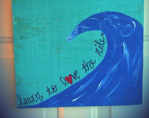 ... sign, waves, ocean, surf sign, surfing quote, rustic, wooden sign