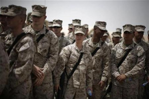 Women Marines want a chance outside the Afghan wire | Reuters