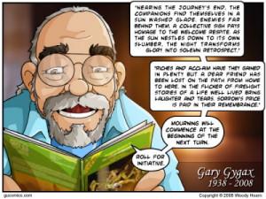 RIP Gary Gygax