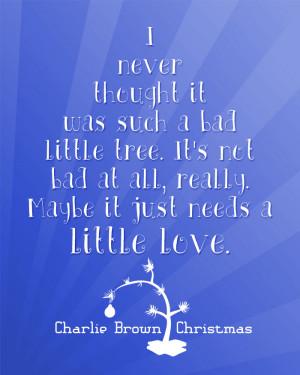 free christmas printable from a charlie brown christmas
