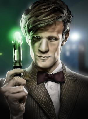 Doctor Who (Matt Smith) by iamherecozidraw
